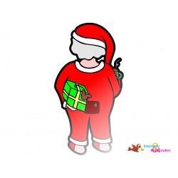 Plotterdatei Weihnachtsmann...