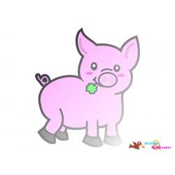 Plotterdatei Schwein