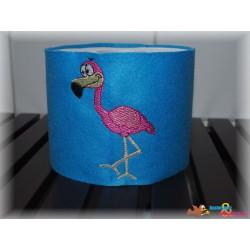 Stickdatei Flamingo Glitzer...
