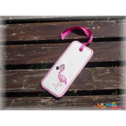 ITH Stickdatei Flamingo...