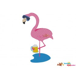 Stickdatei - Set Flamingo...