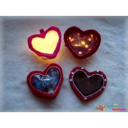 ITH Herz Leuchten 13x18