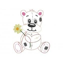 Teddybär Doodle 13x18
