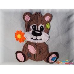 Teddybär Doodle 20x30