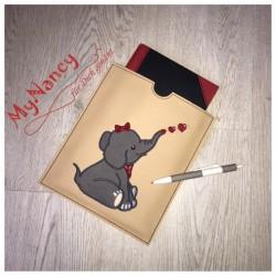 Stickdatei - Elefant Eve...