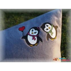 Plotterdatei Pinguin Paar 1