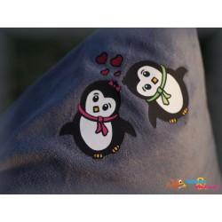 Plotterdatei Pinguin Paar 2