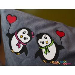 Plotterdatei Pinguin Paar 3