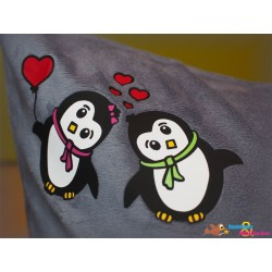 Plotterdatei Pinguin Paar 4