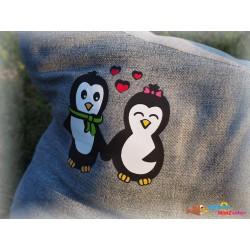 Plotterdatei Pinguin Paar 5