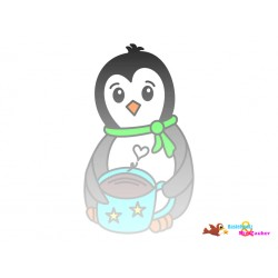 Plotterdatei Pinguin 1