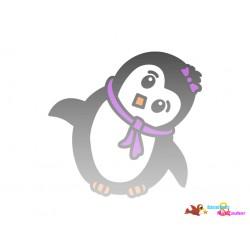 Plotterdatei Pinguin 3