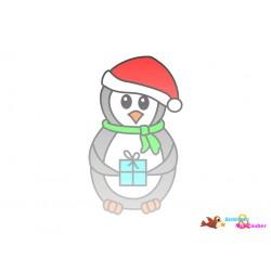 Plotterdatei Pinguin 5