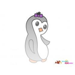 Plotterdatei Pinguin 6