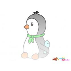 Plotterdatei Pinguin 7