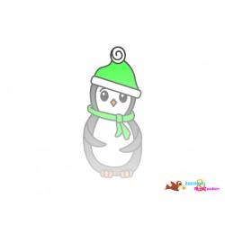Plotterdatei Pinguin 8