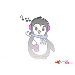 Plotterdatei Pinguin 9