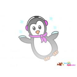 Plotterdatei Pinguin 11