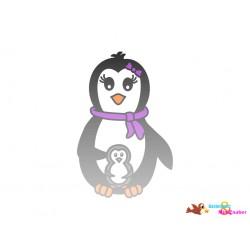 Plotterdatei Pinguin 13