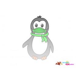 Plotterdatei Pinguin 15