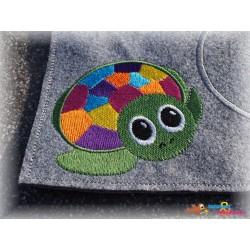 Stickdatei - Schildkröte 10x10