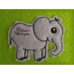 Stickdatei Mini - Elefant...
