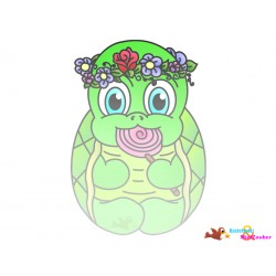 DigiStamp Schildkröte Mädchen