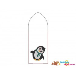 ITH Stickdatei Pinguin...
