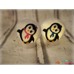 Stickdatei Set - Pinguin...