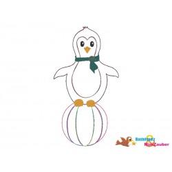 Stickdatei Pinguin Doodle...