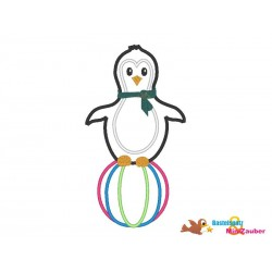 Stickdatei Pinguin...
