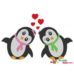 Stickdatei Set - Pinguin 5...