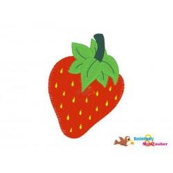 Stickdateien Erdbeere 10x10