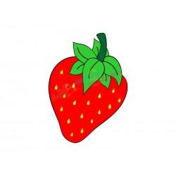 Plotterdatei Erdbeere