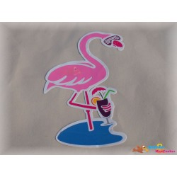 Plotterdatei Flamingo Cocktail