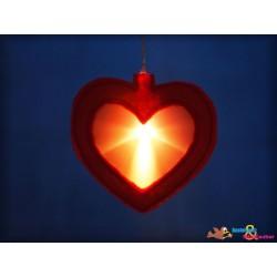 ITH Herz Leuchterkette